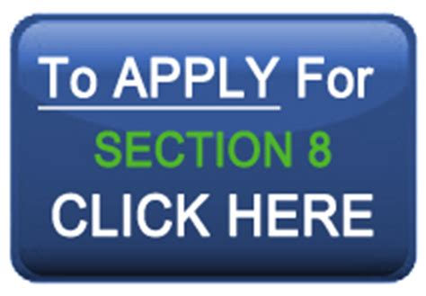 housing authority section 8 application section 8