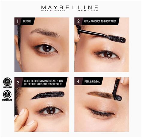 tattoo brow maybelline how to use maybelline new tattoo brow gel tints for killer arches