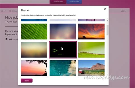 how to change layout yahoo mail how to change your yahoo mail theme technogadge