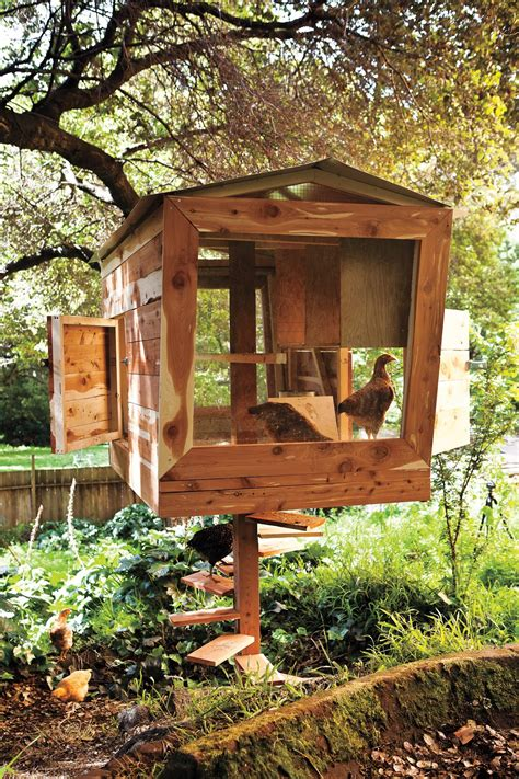 relaxshacks a funky chicken coop as a tiny house