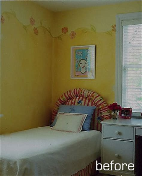 13 year old bedroom reader redesign stellar stencil young house love