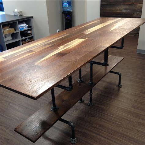 hand crafted solid sappy  figured walnut conference