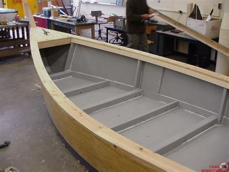 skiff boat ideas plywood skiffs downeast boat forum power skiff