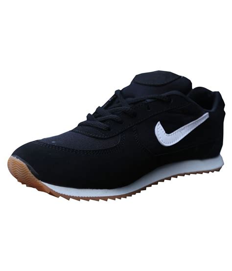 sports black sports shoes price in india buy sports black