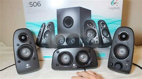 Logitech Z506 5 1 Speaker logitech z506 5 1 surround sound speakers review