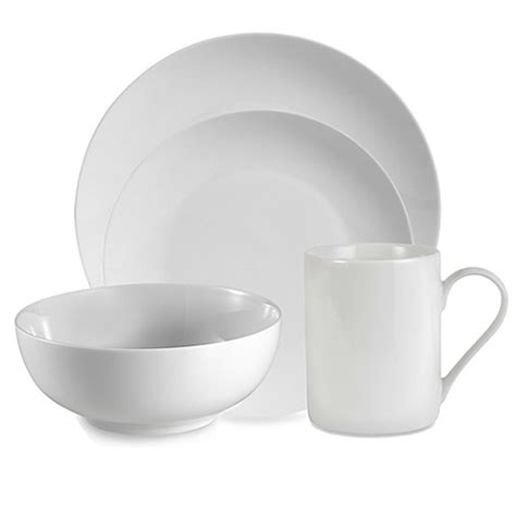 bed bath and beyond dinnerware everyday white 174 by fitz and floyd 174 coupe dinnerware bed