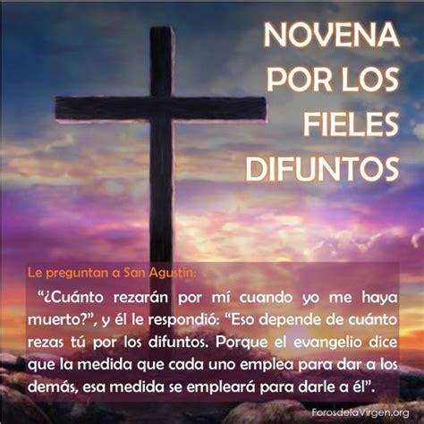 para los fieles difuntos oraciones por los difuntos car tuning view oraci 211 n novena por los fieles difuntos le preguntan a san