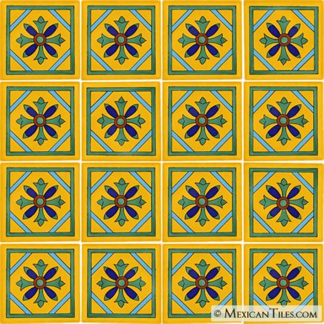 Mexican Handcrafted Tile - mexican tile tulum mexican tile