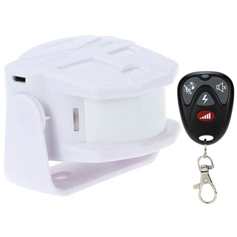 wireless infrared thermal sensor alarm remote