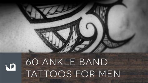 60 ankle band tattoos for men youtube