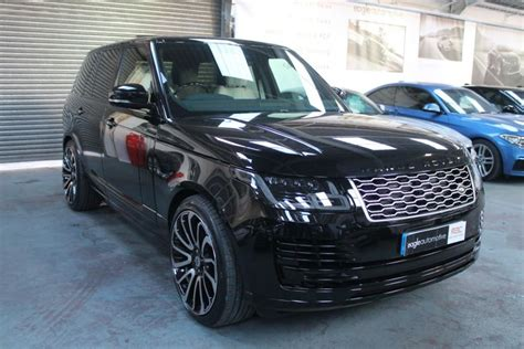 blue range rover vogue used 2018 land rover range rover vogue for sale in