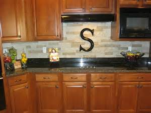 Stacked Stone Kitchen Backsplash Our New Stacked Stone Backsplash We Used Airstone Sold At