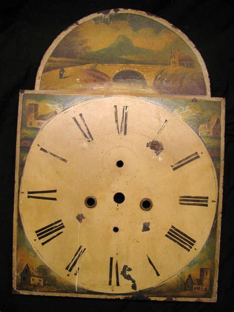 cool clock faces folk art painted clock face cool clocks pinterest