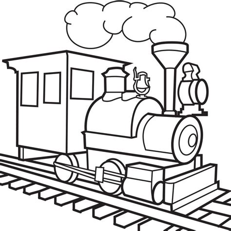 Coloring Pages Of Train Tracks | train tracks colouring pages az coloring pages
