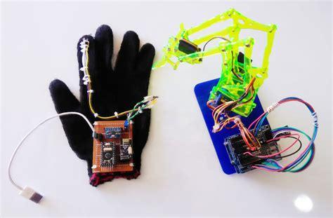 tutorial arduino robotic hand hand gesture controlled robotic arm with arduino