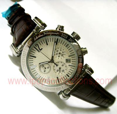 Jam Tangan Wanita Chopard Number Leather White asima