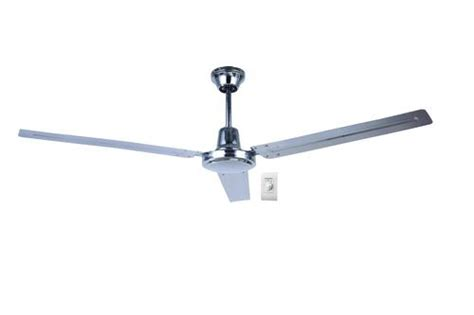 canarm industrial ceiling fan canarm ltd canarm 56 quot chrome commercial ceiling fan with