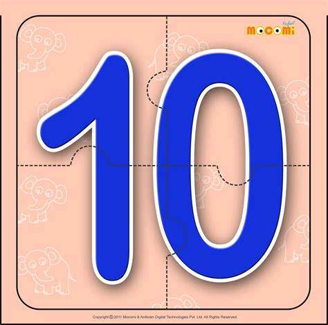 printable number jigsaw puzzles number ten 10 number jigzaw puzzles for kids mocomi
