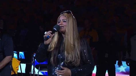 mark jackson wife national anthem desiree coleman jackson performs the national anthem 4 28