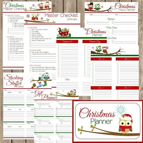 printable christmas party planner frugal friday link up party week 19 sarah titus