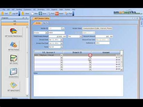 best small business entering a p invoice smartwerksusa retail pos system
