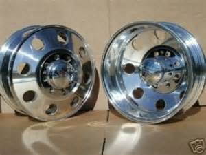 Dually Aluminum Truck Wheels 16 Alcoa Dually Wheels Rims Chevy Silverado 1 Ton Truck