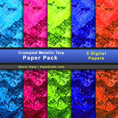 Kertas Scrapbook Purple Minion Design free crumpled metallic tarp digital paper pack free