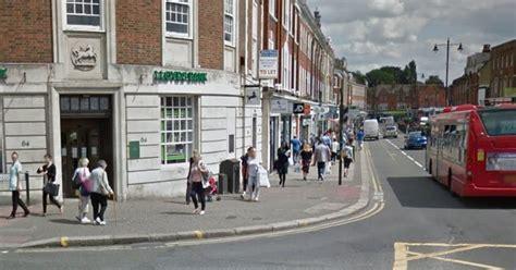 lloyds bank woking who had gun demanded money from lloyds bank staff in