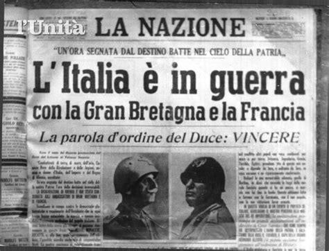la guerra fascista storia