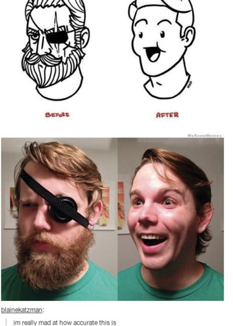 Shaved Beard Meme - image 737001 beard shaving comic parodies know