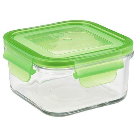 glass storage containers with glass lids that lock glasslock clean fresh food storage containers the