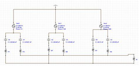 capacitor bank diagram repair wiring scheme