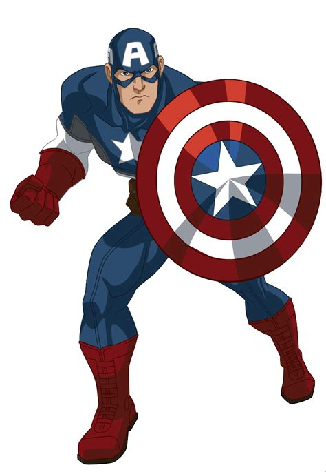 cptain america free comic clipart captain america ultimate spider animated series wiki