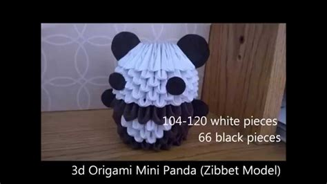 how to make 3d origami panda 3d origami panda diagram www pixshark images