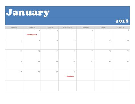 the best free microsoft office calendar templates for staying organized