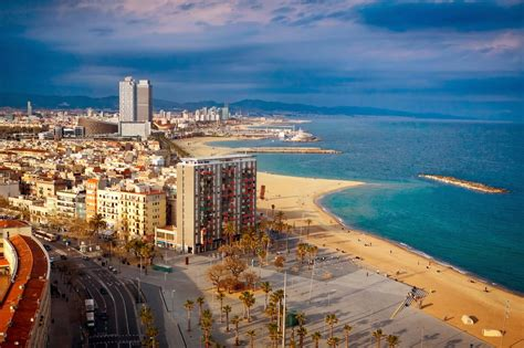 barcelona beach most beautiful cities in spain tourism and travel