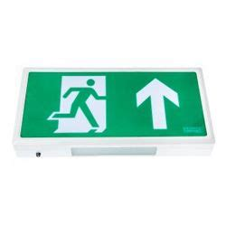 Lu Emergency Exit channel safety alpine led exit sign emergency light e al m3 led e al m3 led led exit