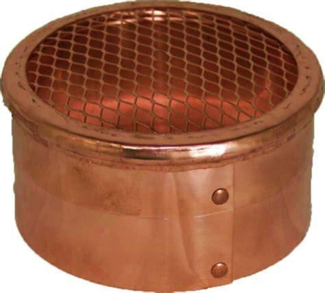 10 inch exhaust fan cover copper eave soffit vent