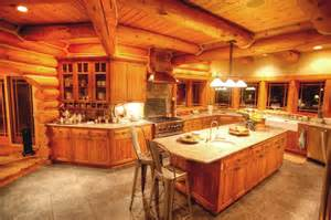 pin by gladys robertson on log kitchens