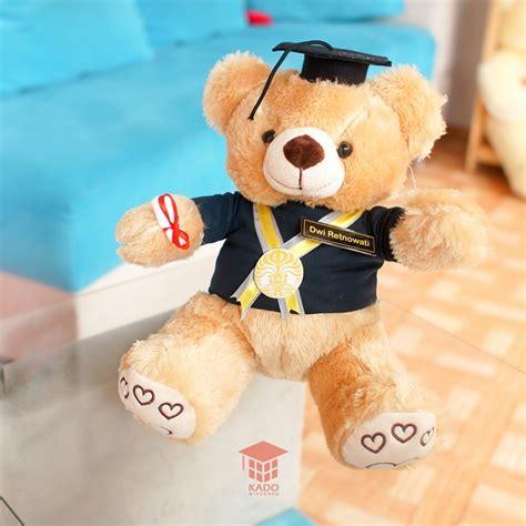 Boneka Teddy Sni 30cm jual hadiah boneka teddy murah jogja kado wisudaku