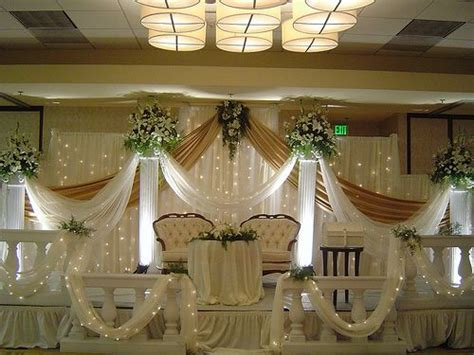 simple church wedding decorations beautiful