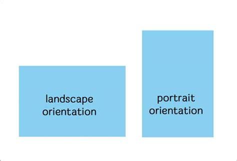 landscape orientation uses landscape orientation ratio izvipi com