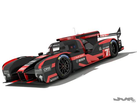 Audi R18 Modell by Audi R18 E Tron 2016 3d Model Cgtrader