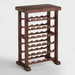 30 bottle verona wine rack world market