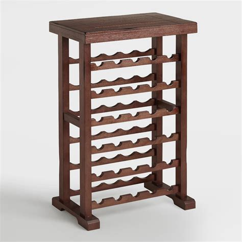 A Wine Rack The Will by 30 Bottle Verona Wine Rack World Market