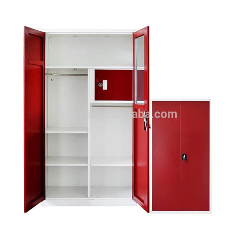 bedroom lockers metal cupboard big wardrobe furniture locker bedroom