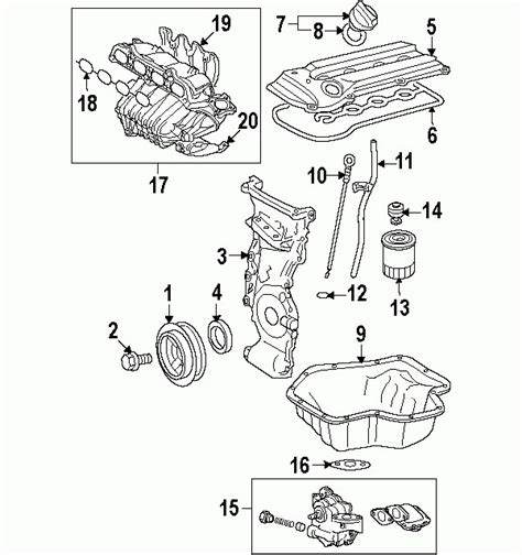 2007 camry parts diagram 2007 toyota camry parts diagram auto engine and parts