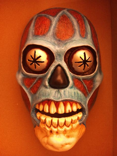How To Make Paper Mache Masks - spine chilling horror