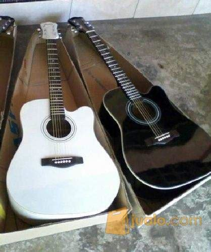Harga Gitar Yamaha Warna Hitam gitar akustik baru aneka warna model ada bonus garansi