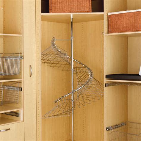 360 degree spiral clothes rack shr 3684 by rev a shelf